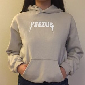 Tan yeezy hoodie